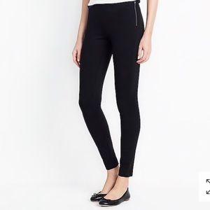 j. crew side zipper pixie leggings/pants